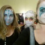 Skuespiller - film og teater Teatersminke fantasi 2
