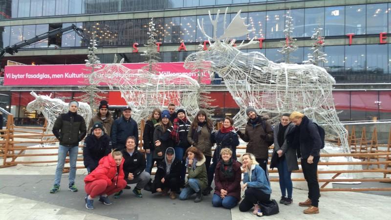 Linjene Skuespiller, Nettserie og Lyd-Lys-Scene i Stocholm desember 2017