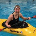 Fjellsport og Kajakk NZ Bassengtrening med elvekajakk