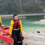 Fjellsport og Kajakk NZ Etter padletur ved skolen