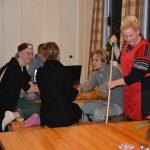 Mat og internat Jobbing og vasking i matsalen