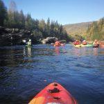 Fjellsport og Kajakk NZ Naturen sett fra elva