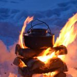 Friluftsliv lett -  Bålkos vinteren 2015