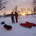 Friluftsliv lett -  På skitur i fjellet