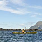 Friluftsliv lett -  Padletur med havkajakk på Helgelandskysten