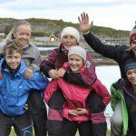 Friluftsliv lett -  Padletur med havkajakk på Helgelandskysten gruppe