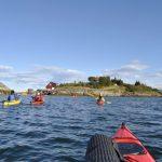 Friluftsliv lett -  Padletur på Helgelandskysten med havkajakk