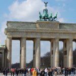 Fotball fordypning Brandenburger Tor