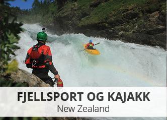 Fjellsport og kajakk – New Zealand