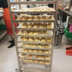 Kanelboller, baking, cinnamon buns, folkehøgskole, high school, Norway