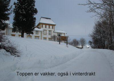 vinter på Toppen