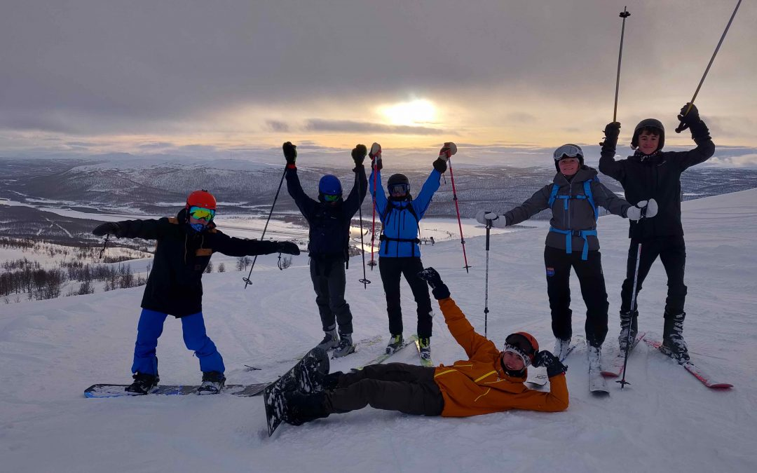 Ski og snowboard tur til Hemavan