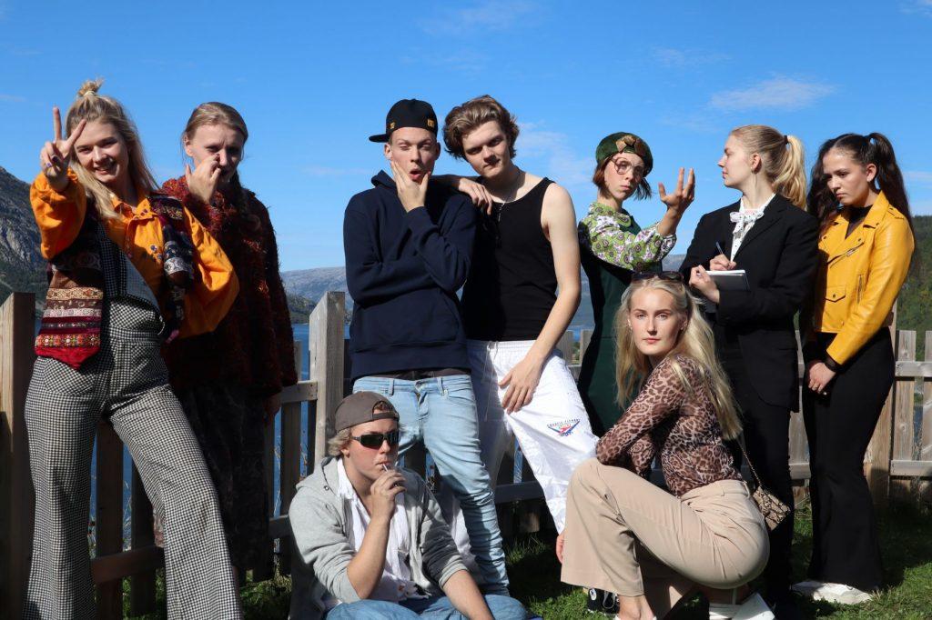 Teaterklassen på Vefsn Folkehøgskole Toppen 2020-21