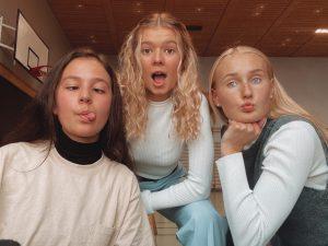 Benedicte, Camilla, Amalie